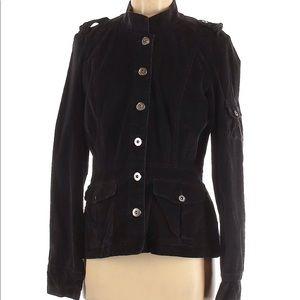 Calvin Klein Black Corduroy Jacket